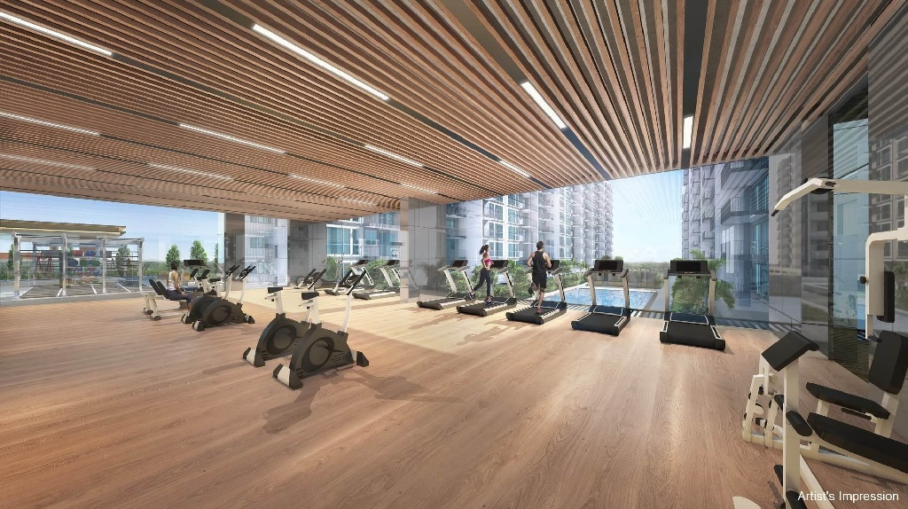 240 sqm Gym @Treasure at Tampines